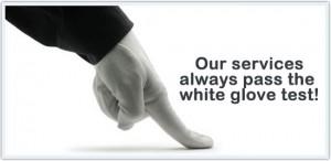 white-glove test